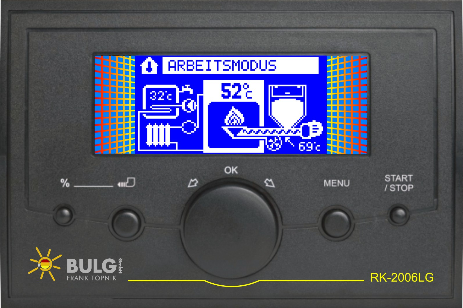 Bulg Kesselsteuerung RK-2006 LG